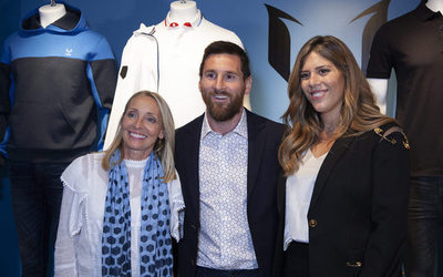 Footballer Messi launches premium fashion brand